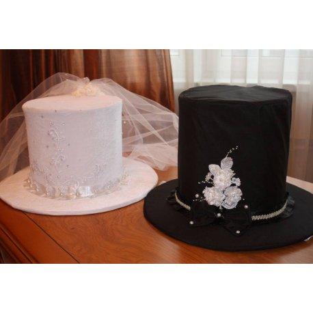 bf7c95756 Svadobná dekorácia - klobúky sada - Bytový design