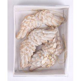 Vánoční ozdoby andělská křídla I